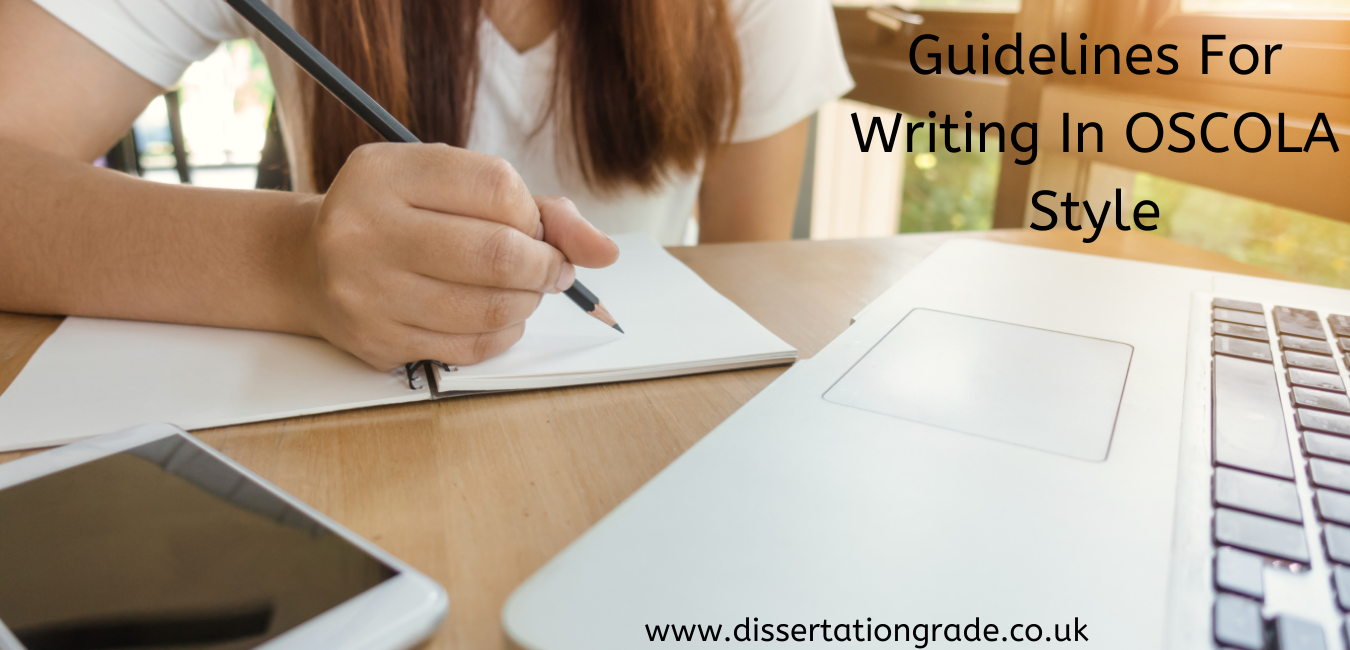 Guidelines For Writing In OSCOLA Style